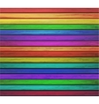 colorful wooden background Eps10 vector image