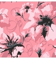 Abstract spring floral background vector image