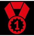 First place icon from Competition Success vector image