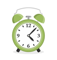 Green Alarm Clock vector image