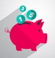 Money Pig Bank vector image