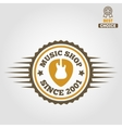 Vintage logo badge emblem or logotype elements vector image
