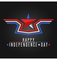 Happy Independence Day United States background vector image