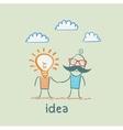 idea vector image vector image