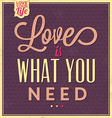 Quote Typographic Valentines Day Background vector image