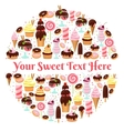 Sweet life element vector image