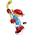 small hockey vector image vector image