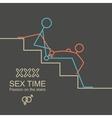 Kamasutra man and woman sex xxx vector image