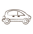 small car icon image vector image