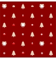 Christmas pattern seamless design Merry card vector image