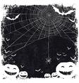 halloween blank background vector image