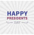 Gray sunburst with ray of light Presidents Day vector image