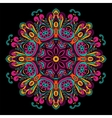 Abstract Festive ethnic mandala background vector image vector image