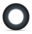 modern vehicle tire icon vector image