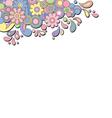 retro psychedelic banner vector image