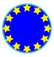 European union symbol vector image