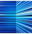 Abstract warped blue stripes colorful background vector image