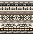 antique borders vector image vector image