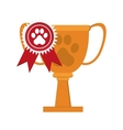 pet award icon vector image