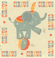 Vintage circus vector image vector image