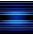 Abstract retro blue stripes colorful background vector image