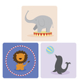 Circus Animals vector image vector image