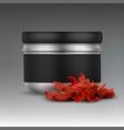 shisha tobacco jar vector image