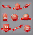 set advertising banners vector image vector image