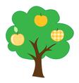 tree 5 vector image