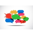 Talk Balloon Abstract vector image