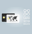 banner template credit card for the banking vector image