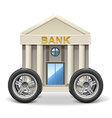 Mobile Bank vector image