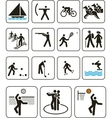 Sports olympic games signs vector image