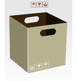 Carton box vector image