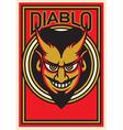 Devil Design vector image vector image