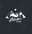 adventure time label vector image