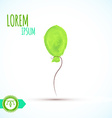 Balloon isolated Watercolor Paint vector image