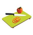 Kitchen board vector image