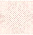 rose diamond pattern seamless vector image
