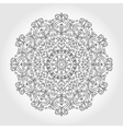 Mandala swirls backgroundTribalethnic pattern vector image