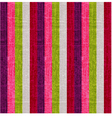 vertical colorful retro stripes background vector image vector image
