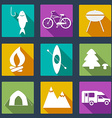 CampingIcons5 vector image