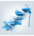 Abstract Composition of 3d vector image