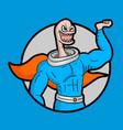 funny hero vector image