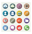 Nice detail and easily identifiable icons set vector image vector image