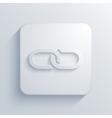 modern chain light icon vector image