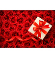 Holiday banners with gift bows and ribbons vector image