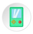 Tetris icon cartoon style vector image