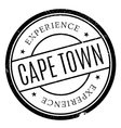 Cape Town stamp vector image