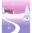 Modern House Background vector image vector image